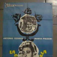 Cine: CDO L772 LA CUARTA CARABELA ANTONIO OZORES POSTER ORIGINAL 70X100 ESTRENO. Lote 276681918