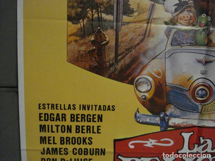 Cine: CDO L787 LA PELICULA DE LOS TELEÑECOS JIM HENSON FRANK OZ POSTER ORIGINAL 70X100 ESTRENO - Foto 4 - 276696413