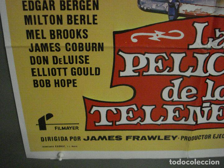 Cine: CDO L787 LA PELICULA DE LOS TELEÑECOS JIM HENSON FRANK OZ POSTER ORIGINAL 70X100 ESTRENO - Foto 5 - 276696413