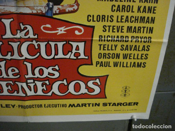Cine: CDO L787 LA PELICULA DE LOS TELEÑECOS JIM HENSON FRANK OZ POSTER ORIGINAL 70X100 ESTRENO - Foto 9 - 276696413
