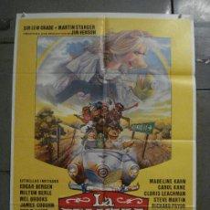Cine: CDO L787 LA PELICULA DE LOS TELEÑECOS JIM HENSON FRANK OZ POSTER ORIGINAL 70X100 ESTRENO. Lote 276696413