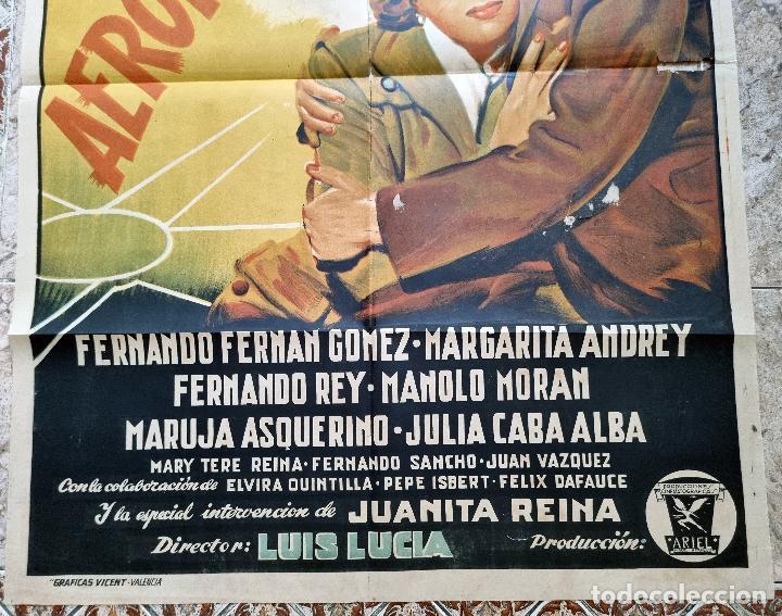 Cine: CARTEL CINE AEROPUERTO LITOGRAFIA PERIS ARAGO CIFESA ANTIGUO ORIGINAL - Foto 8 - 276701658