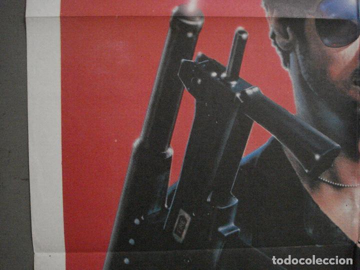Cine: CDO L800 COBRA EL BRAZO FUERTE DE LA LEY SYLVESTER STALLONE POSTER ORIGINAL 70X100 ESTRENO - Foto 3 - 276703563