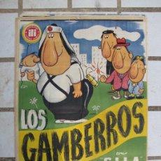 Cinema: CARTEL ORIGINAL ESTRENO 100 CM X 70 CM. LOS GAMBERROS. Lote 276707408