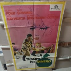 Cine: LA TRAMPA DEL DINERO FORD HAYWORTH ELKE SOMMER POSTER ORIGINAL 70X100 YY(2698). Lote 276748233