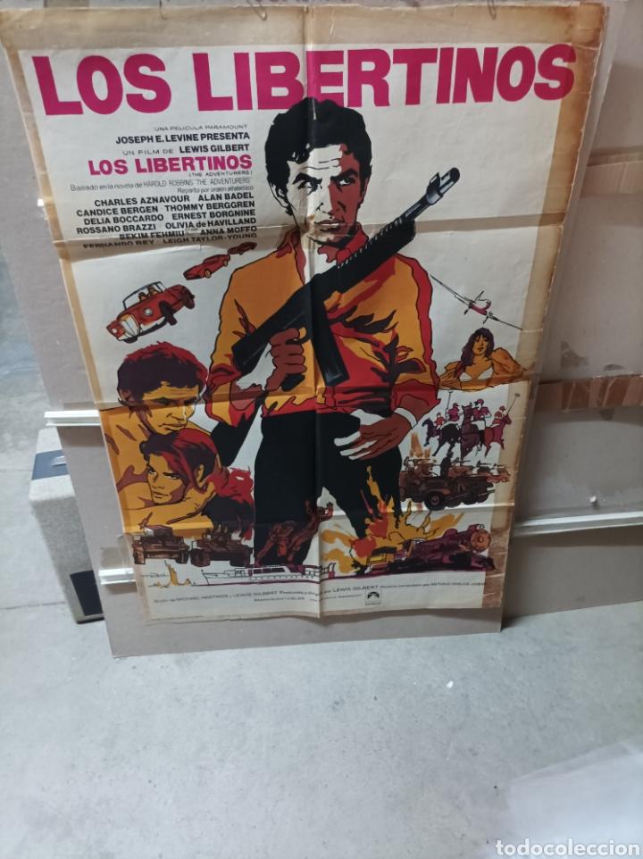 LOS LIBERTINOS POSTER ORIGINAL 70X100 YY (2703) (Cine - Posters y Carteles - Aventura)