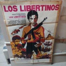 Cine: LOS LIBERTINOS POSTER ORIGINAL 70X100 YY (2703). Lote 276768508