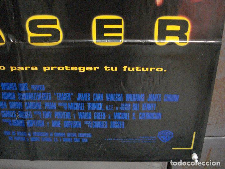 Cine: CDO L838 ERASER ARNOLD SCHWARZENEGGER POSTER ORIGINAL 70X100 ESTRENO - Foto 9 - 276800873