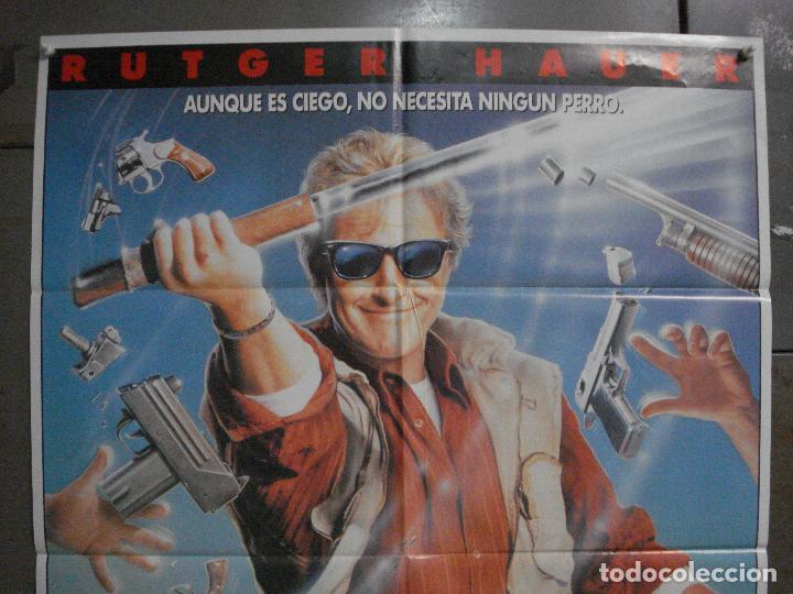 Cine: CDO L840 FURIA CIEGA RUTGER HAUER POSTER ORIGINAL 70X100 ESTRENO - Foto 2 - 276804088