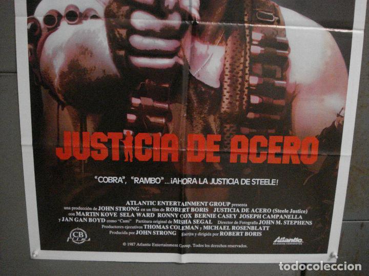 Cine: CDO L847 JUSTICIA DE ACERO MARTIN KOVE SELA WARD POSTER ORIGiNAL 70X100 ESTRENO - Foto 3 - 276813883