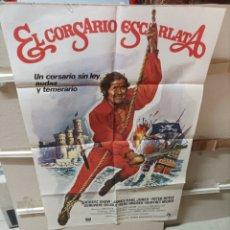 Cine: EL CORSARIO ESCARLATA ROBERT SHAW POSTER ORIGINAL 70X100YY (2708). Lote 276814783