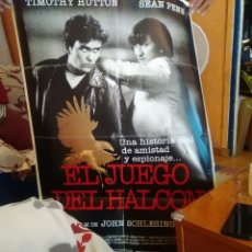 Cine: EL JUEGO DEL HALCON-CARTEL ORIGINAL ESTRENO--SEAN PENN-TIMOTHY HUTTON-1X70-. Lote 276822428