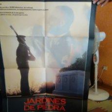 Cine: JARDINES DE PIEDRA-CARTEL ORIGINAL ESTRENO-1X0.70-JAMESCAAN-ANGELICA HUSTON-F.F.COPPOLA-. Lote 276822583