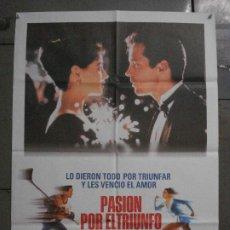 Cine: CDO L852 PASION POR EL TRIUNFO PATINAJE HOCKEY HIELO POSTER ORIGINAL 70X100 ESTRENO. Lote 276914568