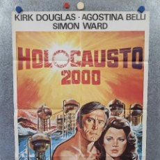 Cine: HOLOCAUSTO 2000. KIRK DOUGLAS, AGOSTINA BELLI, SIMON WARD. AÑO 1980. POSTER ORIGINAL. Lote 276922543