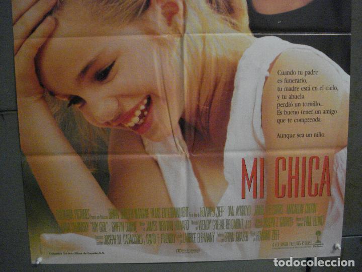 Cine: CDO L857 MI CHICA MACAULAY CULKIN POSTER ORIGINAL 70X100 ESTRENO - Foto 3 - 276923708