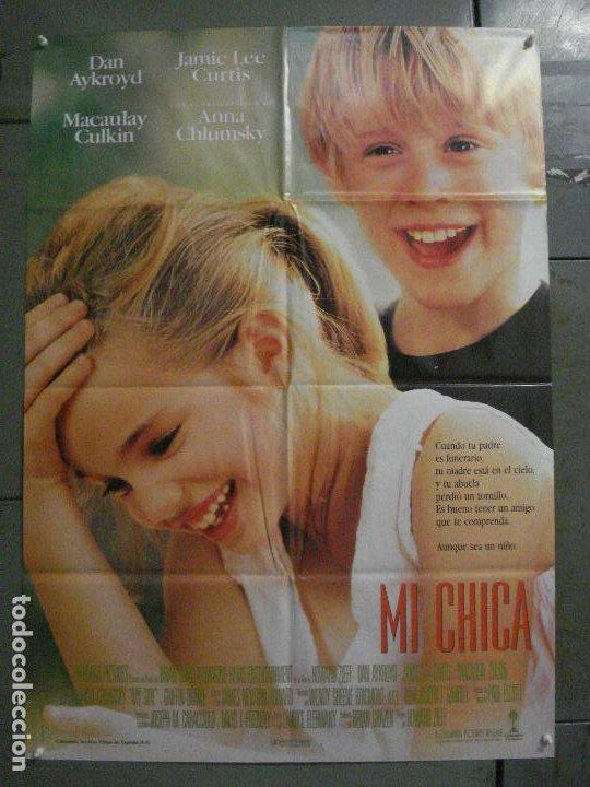 CDO L857 MI CHICA MACAULAY CULKIN POSTER ORIGINAL 70X100 ESTRENO (Cine- Posters y Carteles - Drama)