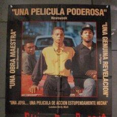 Cine: CDO L858 LOS CHICOS DEL BARRIO CUBA GOODING JR ICE-T BLACK CAST POSTER ORIGINAL 70X100 ESTRENO. Lote 276924553