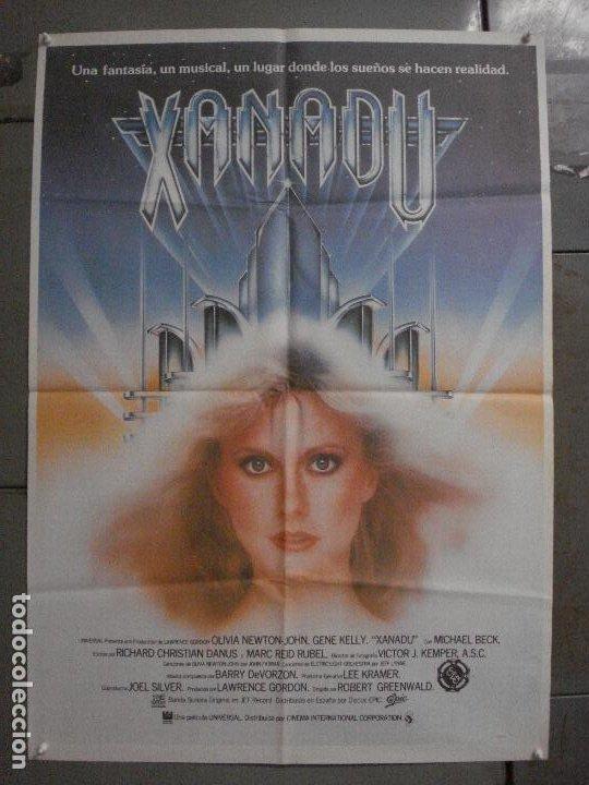 CDO L860 XANADU OLIVIA NEWTON-JOHN GENE KELLY POSTER ORIGINAL 70X100 ESTRENO (Cine - Posters y Carteles - Musicales)
