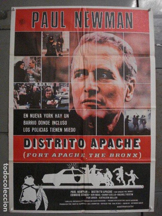 CDO L866 DISTRITO APACHE PAUL NEWMAN KEN WAHL POSTER ORIGINAL 70X100 ESTRENO (Cine- Posters y Carteles - Drama)