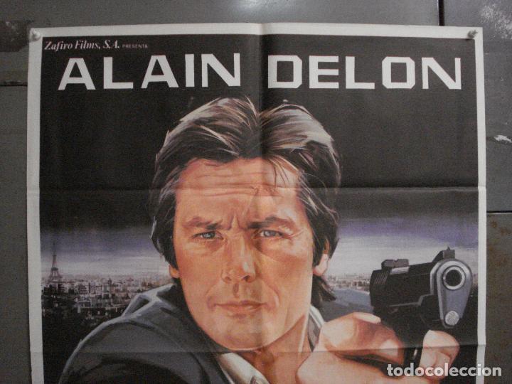 Cine: CDO L867 DERECHO A MATAR ALAIN DELON JANO POSTER ORIGINAL 70X100 ESTRENO - Foto 2 - 276930843