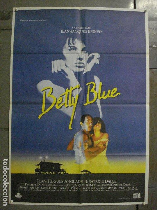 CDO L870 BETTY BLUE JEAN-JACQUES BEINEIX BEATRICE DALLE POSTER ORIGINAL 70X100 ESTRENO (Cine- Posters y Carteles - Drama)