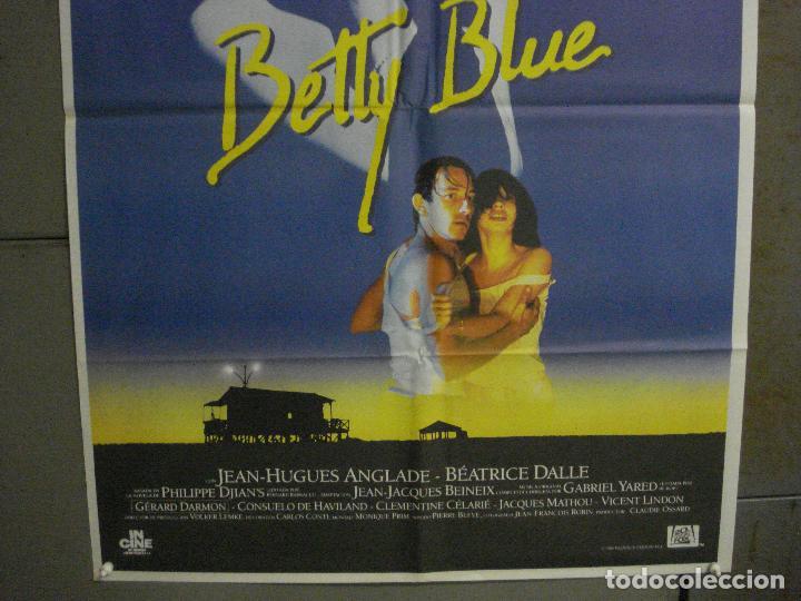 Cine: CDO L870 BETTY BLUE JEAN-JACQUES BEINEIX BEATRICE DALLE POSTER ORIGINAL 70X100 ESTRENO - Foto 3 - 276932158