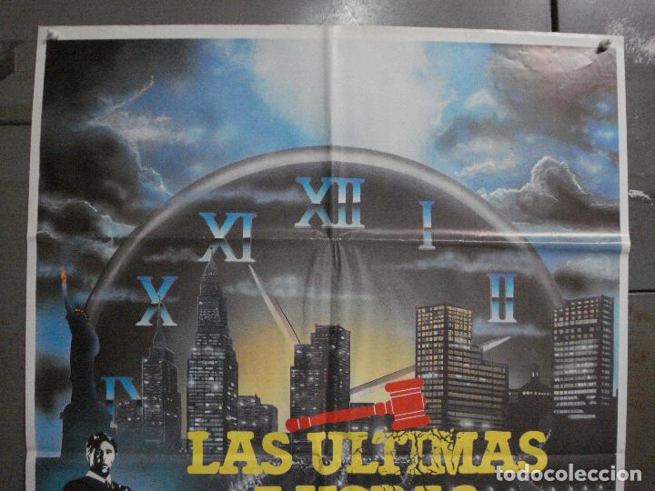 Cine: CDO L872 LAS ULTIMAS 7 HORAS BEAU BRIDGES POSTER ORIGINAL 70X100 ESTRENO - Foto 2 - 276936148
