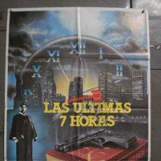 Cine: CDO L872 LAS ULTIMAS 7 HORAS BEAU BRIDGES POSTER ORIGINAL 70X100 ESTRENO. Lote 276936148