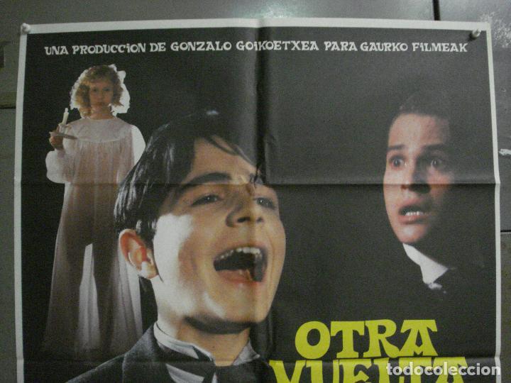 Cine: CDO L875 OTRA VUELTA DE TUERCA ELOY DE LA IGLESIAS POSTER ORIGINAL 70X100 ESTRENO - Foto 2 - 276939878
