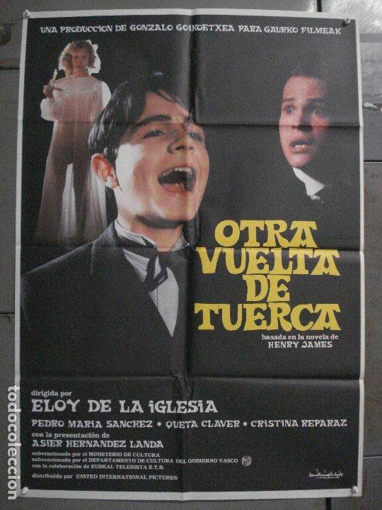 CDO L875 OTRA VUELTA DE TUERCA ELOY DE LA IGLESIAS POSTER ORIGINAL 70X100 ESTRENO (Cine - Posters y Carteles - Clasico Español)