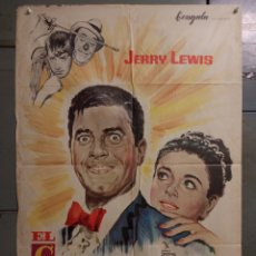 Cine: LM63 EL CENICIENTO CINDERFELLA JERRY LEWIS MCP POSTER ORIGINAL 70X100 ESTRENO. Lote 17648803