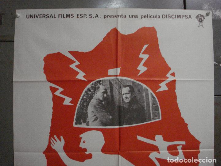 Cine: CDO L877 FALSA ALARMA JOHN DAVIS POSTER ORIGINAL 70X100 ESTRENO - Foto 2 - 276943523