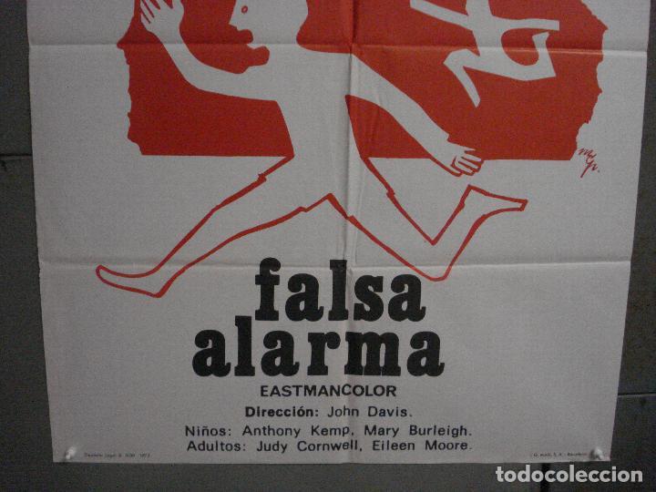 Cine: CDO L877 FALSA ALARMA JOHN DAVIS POSTER ORIGINAL 70X100 ESTRENO - Foto 3 - 276943523
