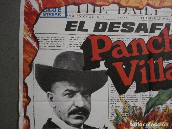 Cine: CDO L879 EL DESAFIO DE PANCHO VILLA TELLY SAVALAS EUGENIO MARTIN MAC POSTER ORIGiNAL 70X100 ESTRENO - Foto 3 - 276952833
