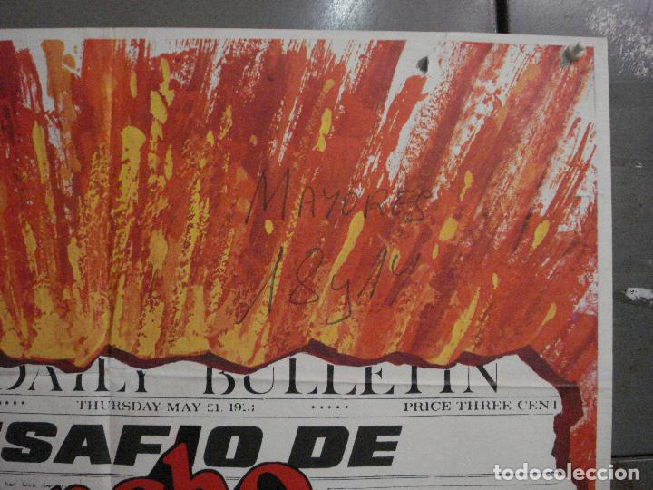 Cine: CDO L879 EL DESAFIO DE PANCHO VILLA TELLY SAVALAS EUGENIO MARTIN MAC POSTER ORIGiNAL 70X100 ESTRENO - Foto 6 - 276952833