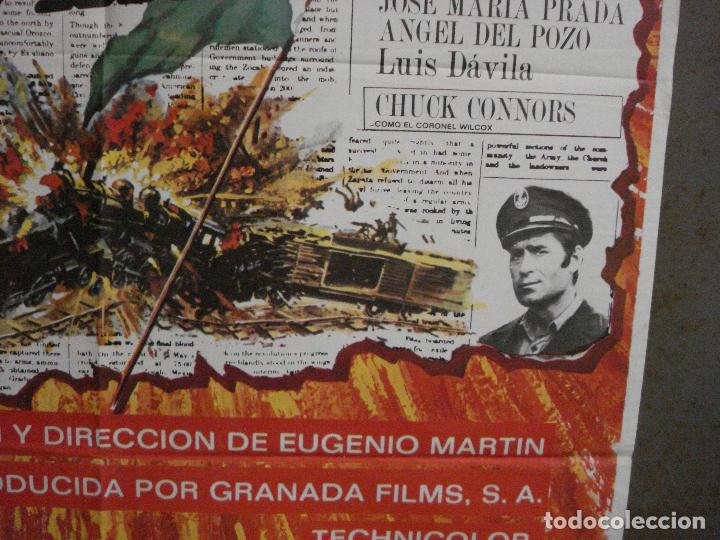 Cine: CDO L879 EL DESAFIO DE PANCHO VILLA TELLY SAVALAS EUGENIO MARTIN MAC POSTER ORIGiNAL 70X100 ESTRENO - Foto 8 - 276952833