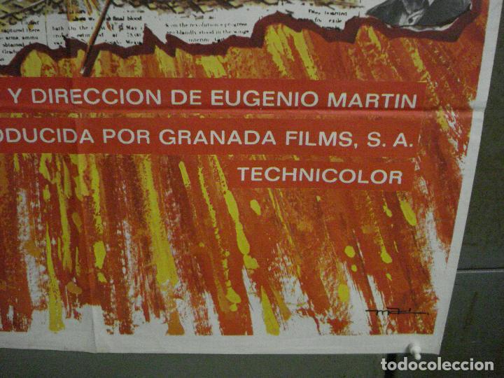 Cine: CDO L879 EL DESAFIO DE PANCHO VILLA TELLY SAVALAS EUGENIO MARTIN MAC POSTER ORIGiNAL 70X100 ESTRENO - Foto 9 - 276952833