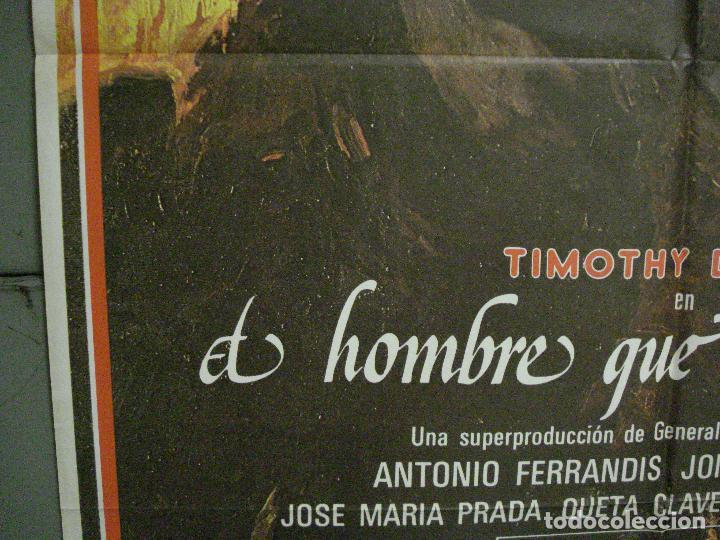 Cine: CDO L880 EL HOMBRE QUE SUPO AMAR TIMOTHY DALTON ANTONIO FERRANDIS POSTER ORIGINAL 70X100 ESTRENO - Foto 4 - 276953488