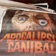 Cine: CARTEL CINE APOCALIPSIS CANIBAL DARA ⅞. Lote 276957328