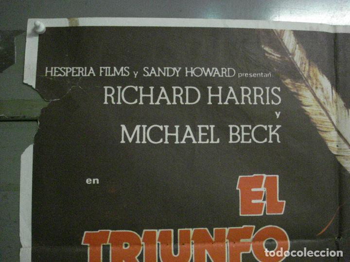 Cine: CDO L881 LA VENGANZA DE UN HOMBRE LLAMADO CABALLO RICHARD HARRIS POSTER ORIGINAL 70X100 ESTRENO - Foto 2 - 277009648