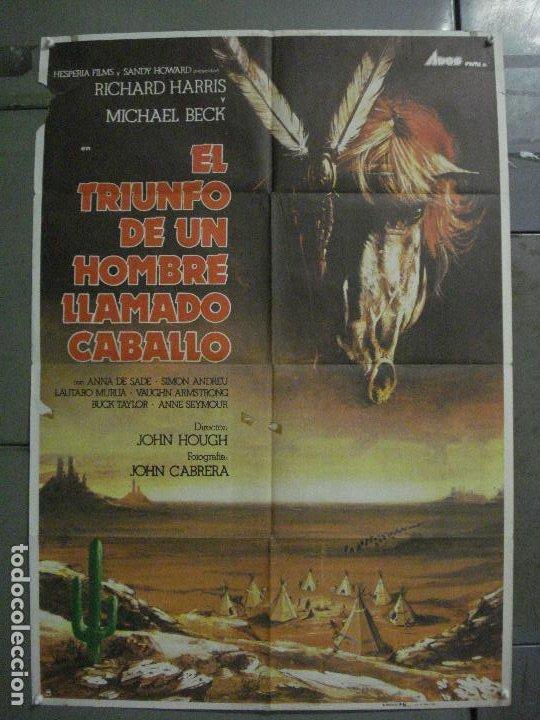 CDO L881 LA VENGANZA DE UN HOMBRE LLAMADO CABALLO RICHARD HARRIS POSTER ORIGINAL 70X100 ESTRENO (Cine - Posters y Carteles - Westerns)