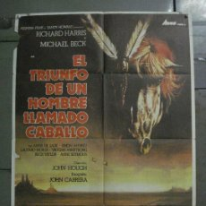 Cine: CDO L881 LA VENGANZA DE UN HOMBRE LLAMADO CABALLO RICHARD HARRIS POSTER ORIGINAL 70X100 ESTRENO. Lote 277009648