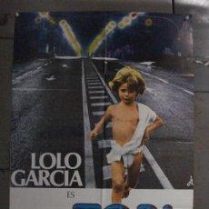 Cine: CDO L890 TOBI LOLO GARCIA ANTONIO MERCERO POSTER ORIGINAL 70X100 ESTRENO. Lote 277016158