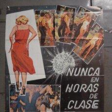 Cine: CDO L892 NUNCA EN HORAS DE CLASE DE LA LOMA INMA DE SANTIS CUGAT POSTER ORIGINAL 70X100 ESTRENO. Lote 277018018