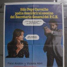 Cine: CDO L893 ASESINATO EN EL COMITE CENTRAL VICTORIA ABRIL PATXI ANDION POSTER ORIGINAL 70X100 ESTRENO B. Lote 277018518