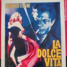 Cine: LA DOLCE VITA. Lote 277021323