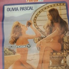 Cine: VANESA CINE S OLIVIA PASCAL FARIZA FILMS HUBERT FRAN POSTER GRANDE CINE. Lote 277046043