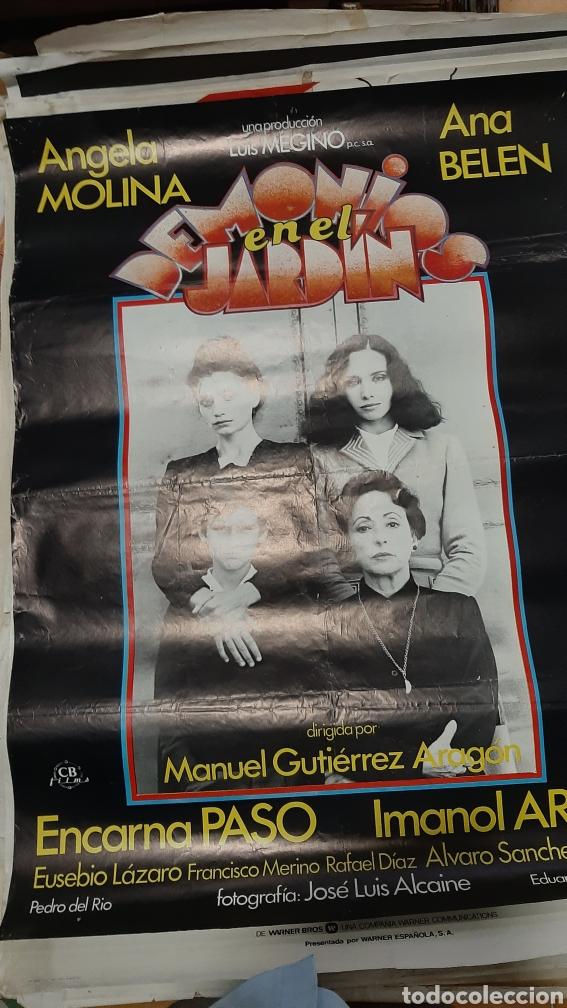 GRAN CARTEL CINE ORIGINAL DEMONIOS EN EL JARDÍN ANGELA MOLINA/ANA BEKEN/ IMANOLARIAS/ ENCARBA PASO (Cine - Posters y Carteles - Terror)