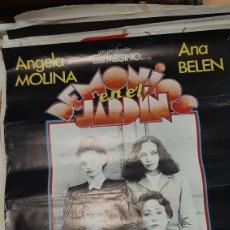 Cine: GRAN CARTEL CINE ORIGINAL DEMONIOS EN EL JARDÍN ANGELA MOLINA/ANA BEKEN/ IMANOLARIAS/ ENCARBA PASO. Lote 277047353